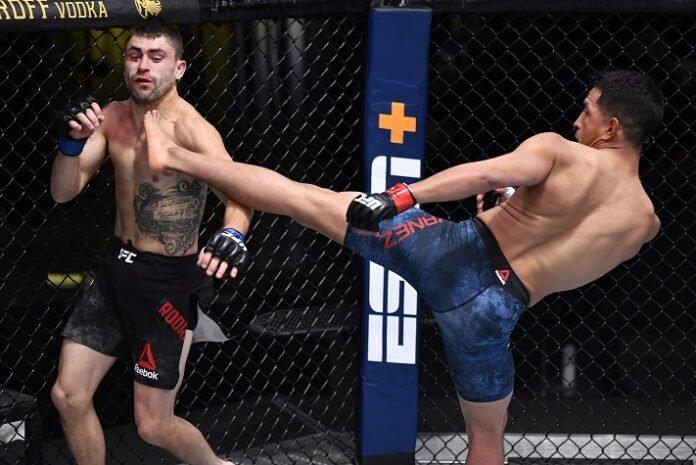 Adrian Yanez and Victor Rodriguez, UFC Vegas 12