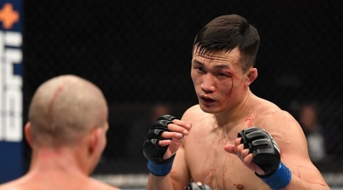 Korean Zombie UFC Fight Island 6