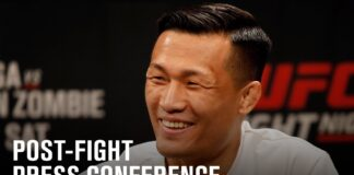 Korean Zombie UFC Fight Island 6 press conference