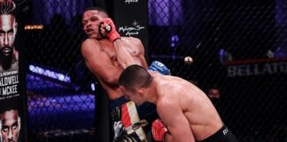 Aaron Pico lands on John De Jesus, Bellator MMA