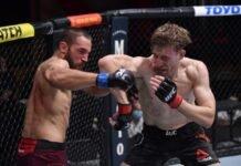 UFC 255 Kyle Daukaus