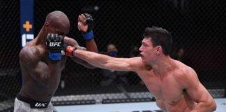 UFC 255 Alan Jouban Jared gooden