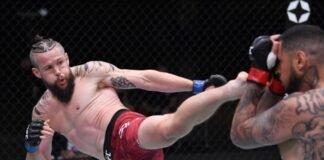 UFC 255 Nicolas Dalby