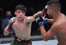 UFC 255 Brandon Moreno