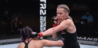 Katlyn Chookagian and Cynthia Calvillo UFC 255