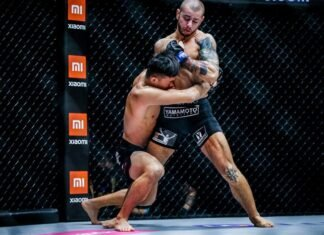 Iuri Lapicus and Christian Lee, ONE Championship