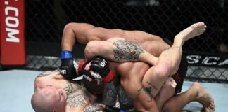 Anthony Smith and Devin Clark, UFC Vegas 15