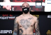 Anthony Smith UFC Vegas 5