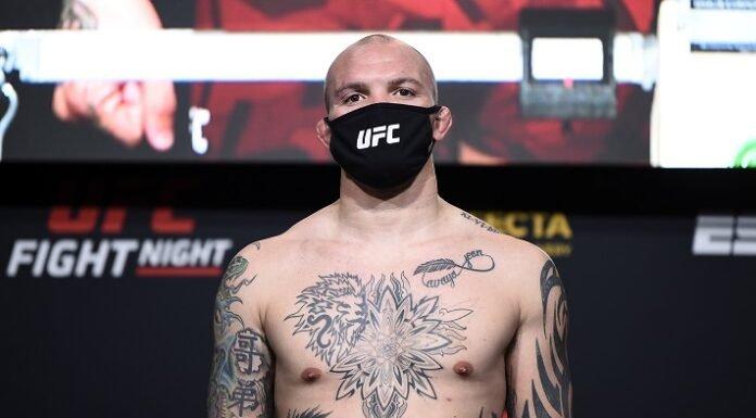 Anthony Smith UFC Vegas 5