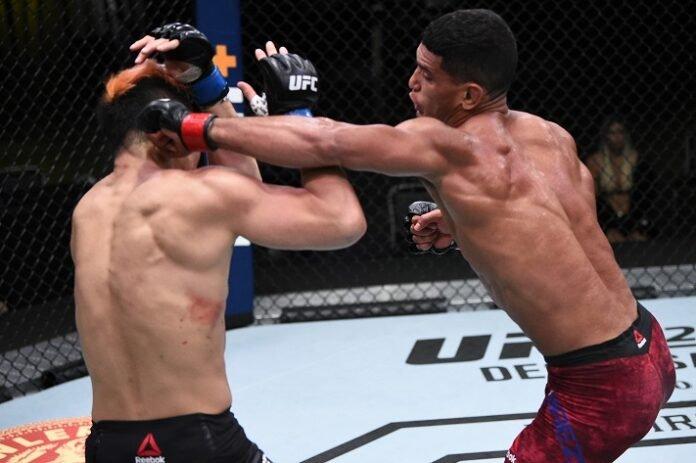 Takashi Sato and Miguel Baeza, UFC Vegas 15