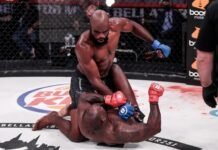 Corey Anderson and Melvin Manhoef, Bellator 251