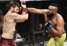 Tanner Boser and Raphael Pessoa, UFC