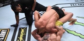 Anderson dos Sanots and Martin Day, UFC Vegas 15