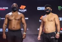 Tyrell Fortune and Said Sowma, Bellator 251