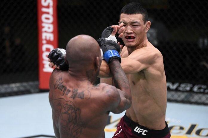 Malcolm Gordon and Su Mudaerji, UFC Vegas 15