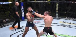 Chris Guttierez and Cody Durden, UFC Vegas 5