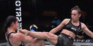Ariane Lipski and Antonina Shevchenko UFC 255
