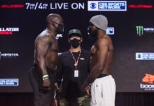 Melvin Manhoef and Corey Anderson, Bellator 251