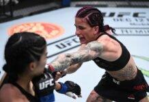 Rachael Ostovich and Gina Mazany, UFC Vegas 15
