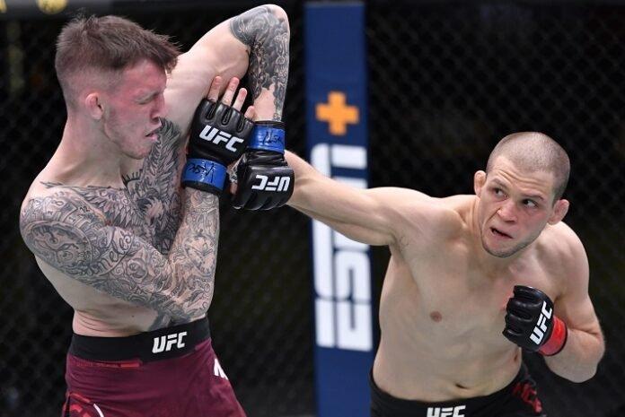 Alex Morono and Rhys McKee, UFC Vegas 14