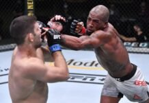 Thiago Moises and Bobby Green, UFC Vegas 12