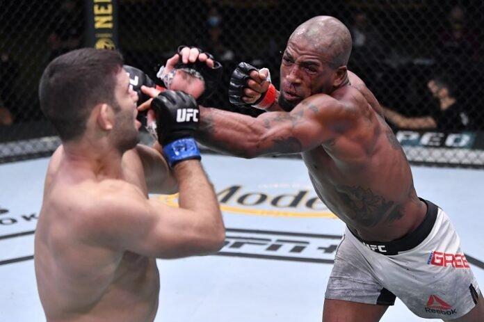 Thiago Moises and Bobby Green, UFC Vegas 12