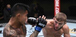 Kai Kamaka III and Jonathan Pearce, UFC Vegas 15