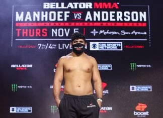 Said Sowma Bellator 251 weigh-in