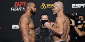 Thiago Santos and Glover Teixeira, UFC Vegas 13