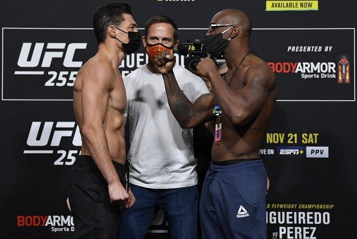 Alan Jouban and Jared Gooden, UFC 255