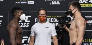 UFC 255 Joaquin Buckley Jordan Wright