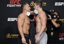Ian Heinisch and Brendan Allen, UFC Vegas 13