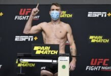 Paul Felder UFC Vegas 14