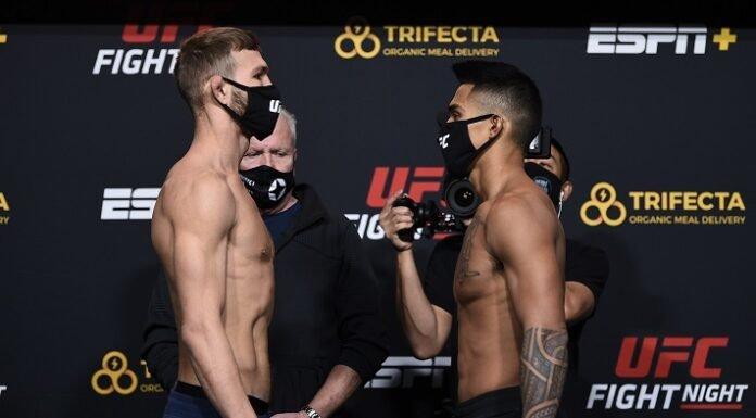 Jonathan Pearce and Kai Kamaka III, UFC Vegas 15