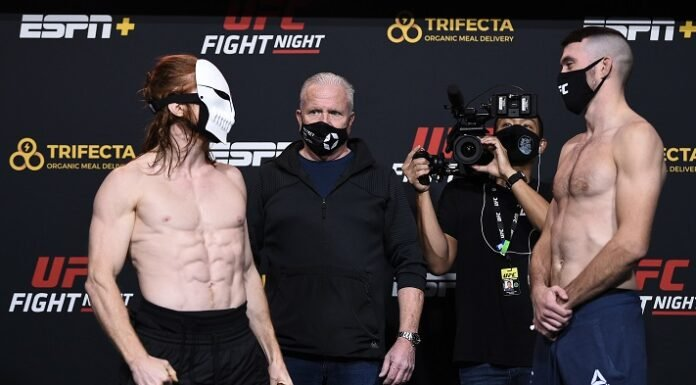 Spike Carlyle and Bill Algeo, UFC Vegas 15