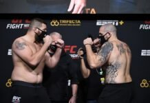 Josh Parisian and Parker Porter, UFC Vegas 15