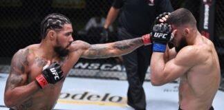 UFC Vegas 13 Max Griffin Ramiz Brahimaj