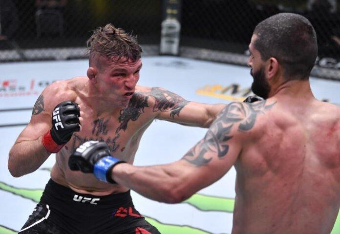 UFC Vegas 13 Darren Elkins Eduardo Garagorri