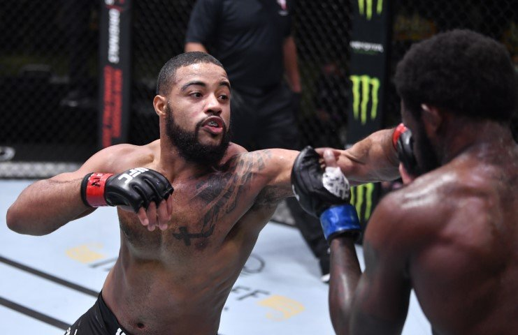 UFC Vegas 13 Results: Trevin Giles Wears Out, Finishes Bevon Lewis