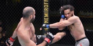 UFC Vegas 13 Giga Chikadze Jamey Simmons
