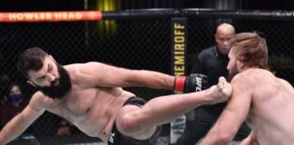 UFC Vegas 13 Andrei Arlovski Tanner Boser