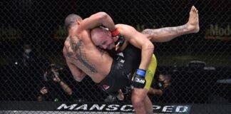 UFC Vegas 13 Glover Teixeira Thiago Santos