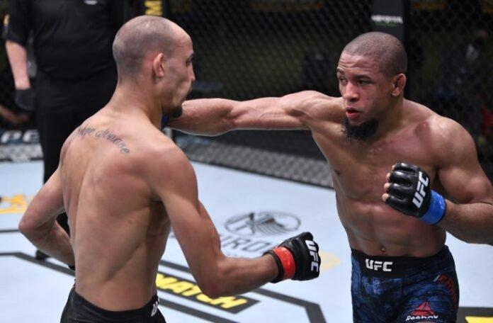 UFC Vegas 14 Geraldo de Freitas Tony Gravely