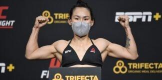 Yan Xiaonan UFC Vegas 13