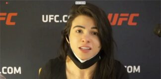Claudia Gadelha UFC Vegas 13