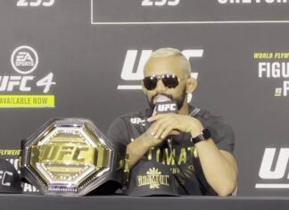 Deiveson Figueiredo UFC 255
