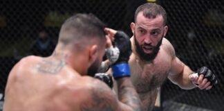 John Allan and Roman Dolidze, UFC Vegas 16