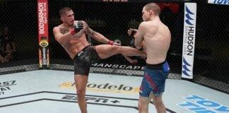 Anthony Pettis and Alex Morono, UFC Vegas 17