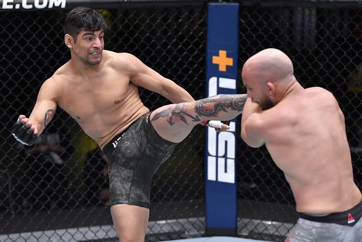 UFC Vegas 16 Results: Gabriel Benitez Knee Stuns Justin Jaynes