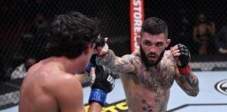 Billy Quarantillo and Gavin Tucker, UFC 256